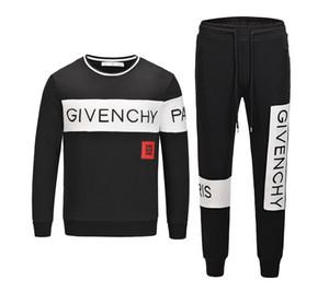 Sportswear Tracksu dos homens Sports Terno capuz Ternos 2020 Itália Luxury Designer Fatos Marca jaquetas dos homens de homens Medusa Moda