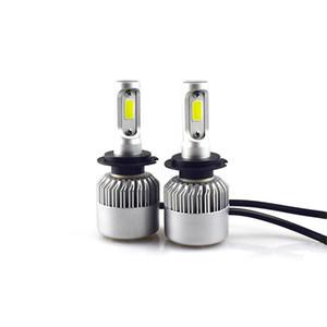 2 x lampe super puissante ampoule LED haute puissance lampe de voiture H7 à faisceau ultra-lumineux 6500K, blanc