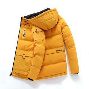 L-8XL Winterjacke Herren Parkas Top Warm Big Size verdicken junger Mann schwere Wolle Mantel-Qualitäts-Fleece Cotton-Padded
