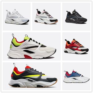 Dior 2019 Оптовая B22 женщин Mens французский дизайнер Фирменная Повседневная обувь Холст Mesh Up B22 Кроссовки теннисные туфли Женщины кроссовки Dady обувь