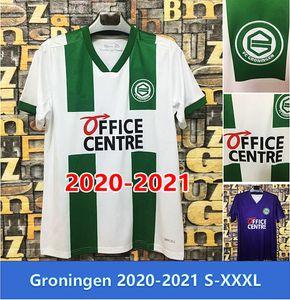 Top Quality 2020 FC Groningen Robben Jerseys 20 21 Football Club de football Chemises de football deyovaisio Zeefuiik Maillot Uniforme S-XXXL