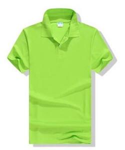 porter le football Mesh hommes Retournez col chemise à manches courtes logo personnalisé vêtements de travail T-shirt groupe POLO entreprise de gros culturelle imprimée