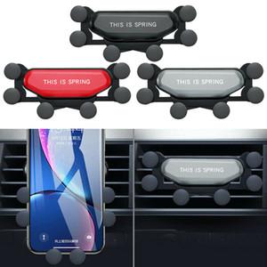 2da Generación de dos generaciones Fleximount Soporte universal para teléfono del coche Soporte automático para teléfono Soporte para coche Soporte de gravedad Soporte para teléfono celular