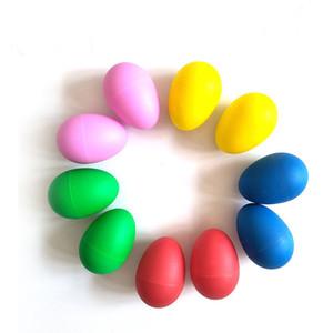 5 цветов симпатичные высокое качество пластиковые ударные маракасы шейкеры музыкальное яйцо большой ребенок малыш дети раннего обучения игрушка Z0564