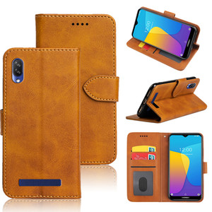 Leather Flip Case For Doogee Y8C Mix Lite Case Wallet Card Slot Phone Cover For Doogee N10 N20 X5 Max Case