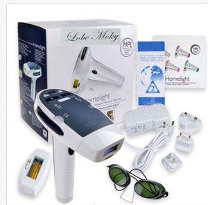 HR001 MOQ 1 Heimgebrauch Laser-Haarentfernung Maschine kommt mit zwei IPL Elpilator zur dauerhaften Haarentfernung Hautverjüngung