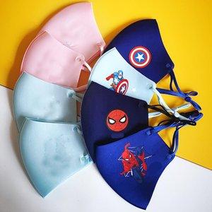 Sevimli Süper Kahraman Çocuk Maske Boy Kız Süsleme Heros Cadılar Bayramı Fantezi Parti Dikmeler Kostüm Masquerade karikatür Maskesi Soğuk