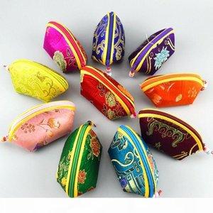 Großhandel Lot von 20 Stücke chinesische Stickerei Silk satin Coin pouch GELDBÖRSE Brieftasche