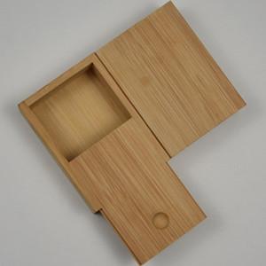 Nueva Caja de Almacenamiento de madera Cajón Portátil Titular de Cigarrillos Titular de la Caja de Protección Shell Herb Smoking Pipe Tool Alta Calidad DHL libre