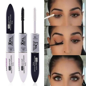 3D fibre Mascara Long Black Lash Extension des cils Maquillage des yeux Mascara Waterproof Extension Cils 3D Fibre Silk Lash outil RRA1478