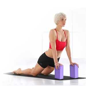 EVA Gym Blocks Foam Brick Training Exercise Fitness Set Tool Yoga Bolster Pillow Cushion Stretching Body Shaping Health Training