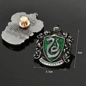Hogwarts Scuola Horcruxes Doni della Morte Pins Spille vestiti zaino distintivo