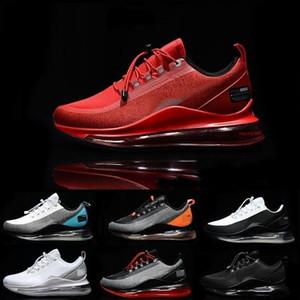 720 실행 유틸리티 (72C)의 남성 디자이너 신발 남성 여성 캐주얼 공기 360 반사 트레이너 검은 색 흰색, 파란색, 회색 오렌지 스포츠 운동화 36-45