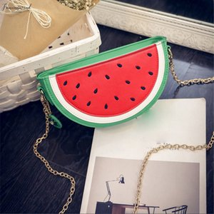 Crossbody Bags For Women Sweet Summer Handbag Cute Fruit Packet Shoulder Orange Watermelon Bags Zipper Ladies Messenger Bag 5$