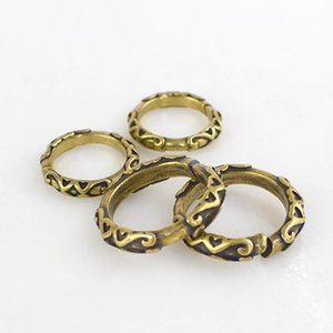 23 28mm Solid Brass Ring Keychain O Ring Buckles DIY Bag Decoration Craft Hardware Accessories BD382