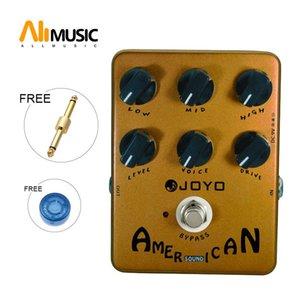 Joyo JF-14 American Sound-Effektpedal mit Fender Deluxe Amp Simulator und einzigartig Voice Control-Pedale