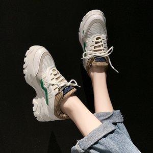 أحذية رياضية للأطفال 19 سنوات فور سيزونز يمكن أحذية بيضاء المكرونة الملابس شبكة التهوية جوكر تشغيل أوقات الفراغ أبي أحذية الصغيرة