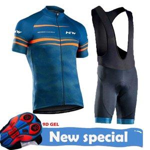 2020 Ropa Ciclismo NW Ciclismo Jersey Set Bicicleta Calções respirável Verão Quick Dry MTB bicicleta Ciclismo Vestuário