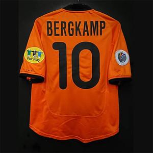 Retro Hollanda Futbol Formaları Bergkamp Kluivert Gullit Van Persie Sneijder Van Nistelrooy Rijkaard Vintage Hollanda Klasik Gömlek Kiti