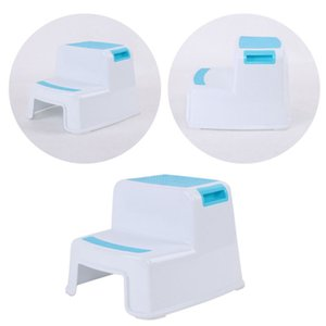 Multifunctional Children Toilet Pedestal Stool Bathroom Plastic Thick Step Stool