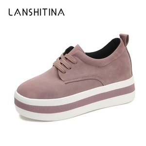 Spring Autumn Flock Ladies Casual Shoes Pink Women Platform Shoes Female Chaussure Comfortable Sneakers Soft Outdoor Shoes