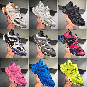 Track Sneaker 100% Non Leather Sneaker Cumbersome Craftsmanship,Exquisite Workmanship,Top Quality Paris Shoes Speed Coach Luxury Sneakers f8