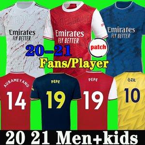 Tailândia Arsenal camisa de futebol soccer jersey football shirt 19 20 AUBAMEYANG LACAZETTE 2019 2020 Camiseta Xhaka Özil kit de futebol camisa uniformes maillot de terceira