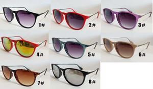 10шт мужчин езда на велосипеде на открытом воздухе солнцезащитные очки солнцезащитные очки, женщины Классическая мода ацетат солнцезащитные очки круглый пляж полный кадр NEW 8Colors Бесплатная доставка