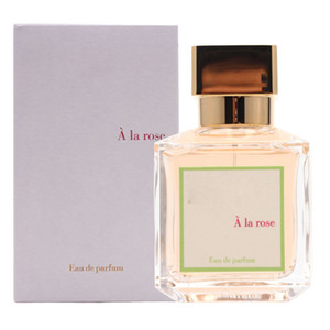 Profumo per le donne Rose Aroma Eternal Rose 70ml EDP Exquisite packaging di alta qualità Spray Bottiglia 1: 1 copia duraturo di trasporto