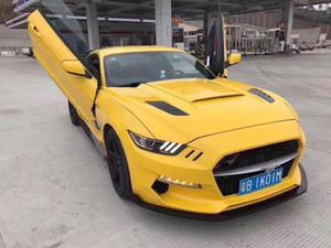 2015 Новый Ford Mustang Rocket Pre окружение передний бампер решетка противотуманная фара комплект