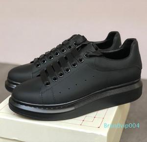 Tasarımcı Erkekler Kadınlar Platformu Sneaker Günlük Ayakkabılar Moda Parlak Floresan Ayakkabı Yılan Geri Deri Chaussures Hommes 02 C22 dökün