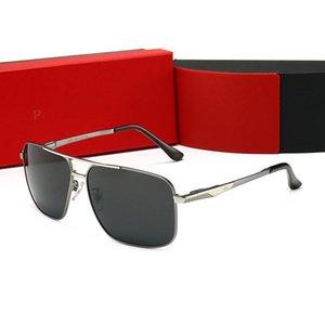 Top Brand Men Glasses Women Square Polarized Sunglasses Men Pilot Driving Fishing Uv Protection Lens Police Retro Eyewear Uv400 KZhir