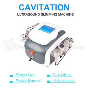 Di alta qualità 40 k ultrasuoni cavitazione vuoto bipolare rf pelle del viso stringere lipolaser lipo laser brucia grassi perdita di peso dimagrante macchina
