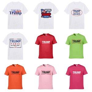 Duyou Mens Designer Trump T-shirts manches courtes hommes Mode strass multicolore Skulls Man Trump T-shirt Homme de haute qualité mercerisé Cotto