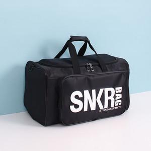 New Designer Duffle Bag 19ss Mens Womens Designer Bags Black White Large Capacity Travel Bag Gym Bags