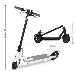 Factory Direct Electric Scooter Adult Folding Bicycle Light Portable Anti-Burst Tire Two-Wheel Scooter Electric