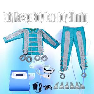 давление воздуха массажа ног массажеры сжатия воздуха сапоги Pressotherapy Инфракрасный лимфатический дренаж машина 24 аэрбеги давления