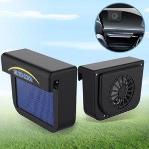 Güneş Güneş Enerji Araç Oto Fan Hava Firar Cooler Havalandırma Sistemi Radyatör Egzoz Isı Fan Araba Pencere Soğutma Hayranları Soğuk