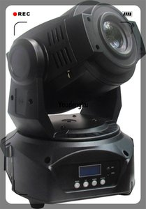 4 punti eccellente di draadloze spot led mini 90w moving head DMX gobo 90 led spot moving head light