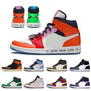 AriaGiordaniaRetro 1 1s Shattered Tabellone 3.0 x Chicago Stock Basket scarpe per uomini donne Spiderman Ombra formatori mens Sport