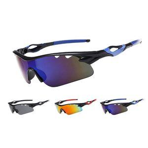 Men Women Outdoor Climbing Cycling Anti-UV Polarized Glasses Summer Sport Hiking Windproof Sunshade Sunglasses 5 Pcs Lens  Suit