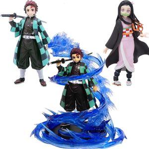 Demon Slayer Tanjirou Nezuko PVC Action-Figuren Modell Spielzeug Dämonentöter Anime Figurine Kimetsu keine Yaiba Anime größen CJ191213