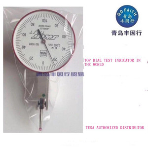 Free Shipping High Precision TESATAST Dial Test Indicator Ruby Jewelled 0-0.2mm 0.002mm 01811001, 01810009, 01810010,S18001695,Mitutoyo