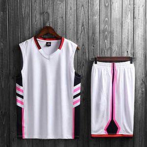 2020 gelb NCAA Basketball Jerseys Sets Uniformen College Basketball-Trikots Jugend Basketball Shirts Shorts Anzüge