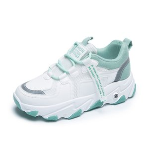 Ladies Walking Shoes Casual Fashion Outdoor Sports Shoes Korean Lightweight Comfortable Thick-soled Daddy Shoes Wild Tide