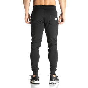 Muscle Fitness Brothers Europe And America Men Sports Sweatpants Exercise Casual Running Fitness Leggings