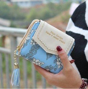 الولايات المتحدة STOCK UK المرأة القصيرة محفظة النقود الصغيرة للسيدات محفظة جلدية قابلة للطي حامل بطاقة عملة