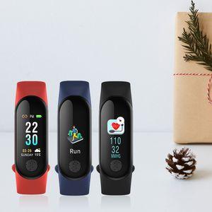 HOT Band 3 Miband3 Smart Bracelet Heart Rate Blood Pressure Multi-Sports Mode Automatic Bright Screen Wristbands Mi M3 Plus