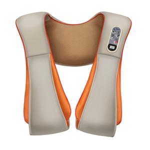 Электрический назад плечо шеи шейки матки массаж Шали устройство тела отопление массажер Главная (ЕС Plug)
