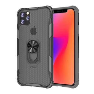 2 IN 1 Gömme Vaka Cear Cep Telefonu Kılıf için Iphone 11 Pro Max Samsung Galaxy Note 10 Pro S10 PLUS için 2019 Arka Kapak Hibrid Zırh Kutuları